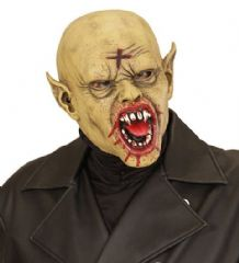 Bald Vampire Face Mask - (00845)